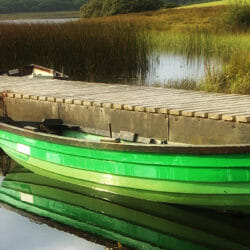 Ireland green boats Karen Schulman photo tour
