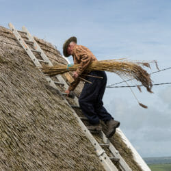 Ireland photo tour Brenda Tharp thatch roof