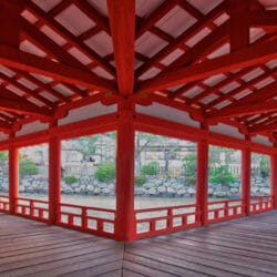 Itsukusima Shrine Miyajima Island Japan photo tour Ron Rosenstock
